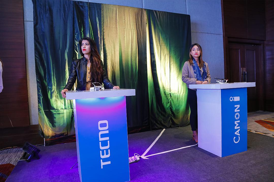 Techno mobile launching